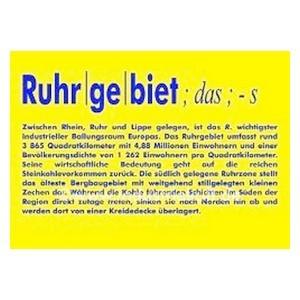 Ruhrgebietsladen Artikelliste