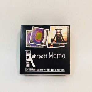 Ruhrpott Mini Memo Ruhrgebiet Gedächtnisspiel Spiel 48 Karten Kartenspiel Neu